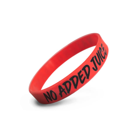 Red Natural Army Wristband