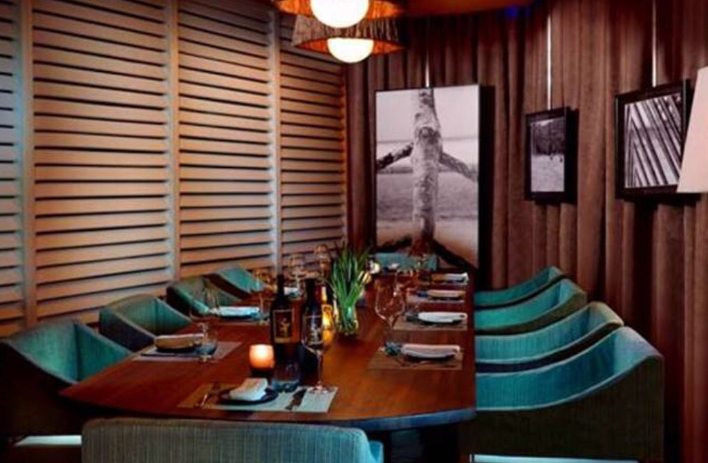 Private dining rooms in miami
