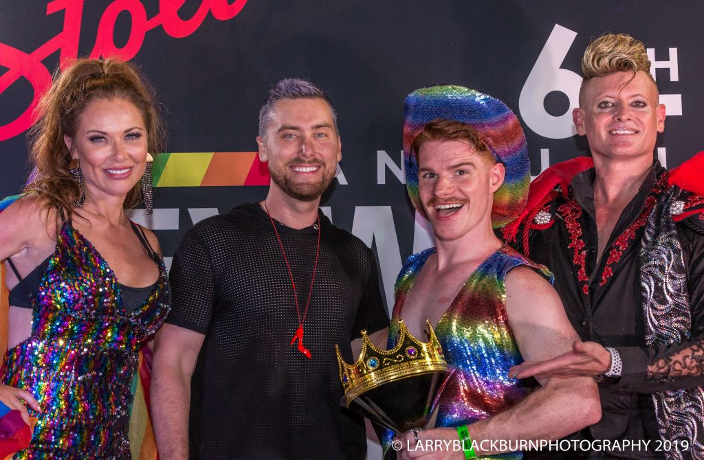 ICYMI: Lance Bass Judges Key West Cocktail Classic