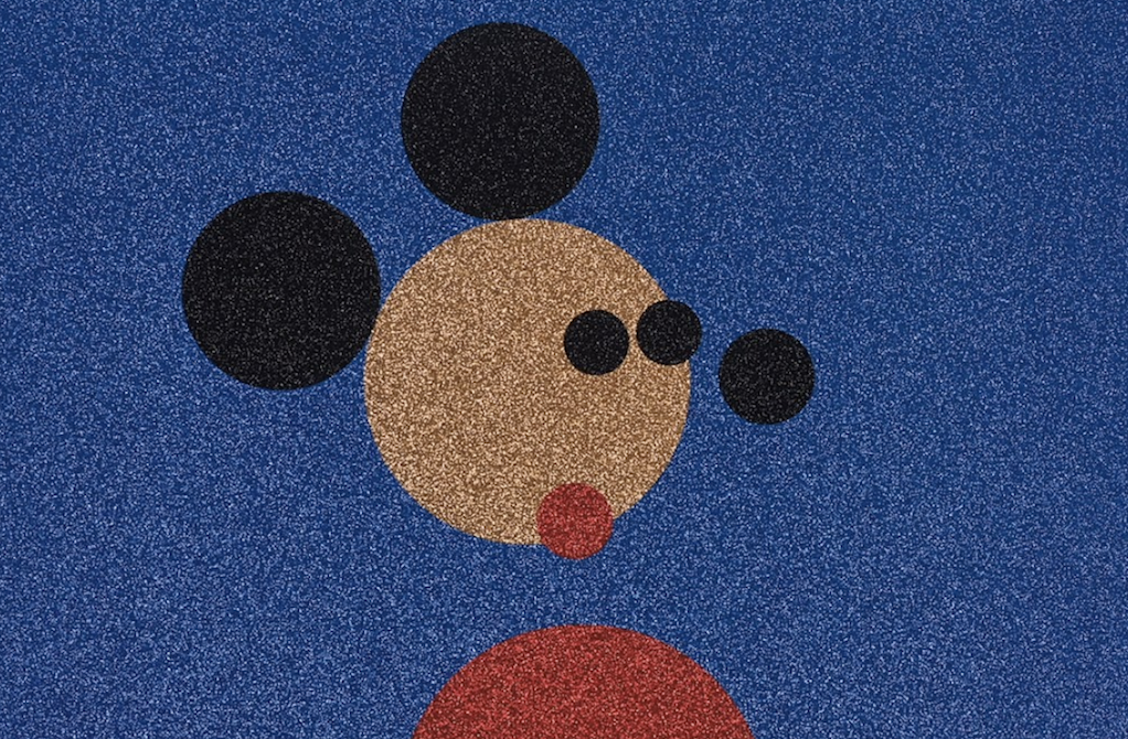 Damien Hirst Mickey and Minnie