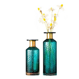 NORDIC HAMMERED GOLD VASES