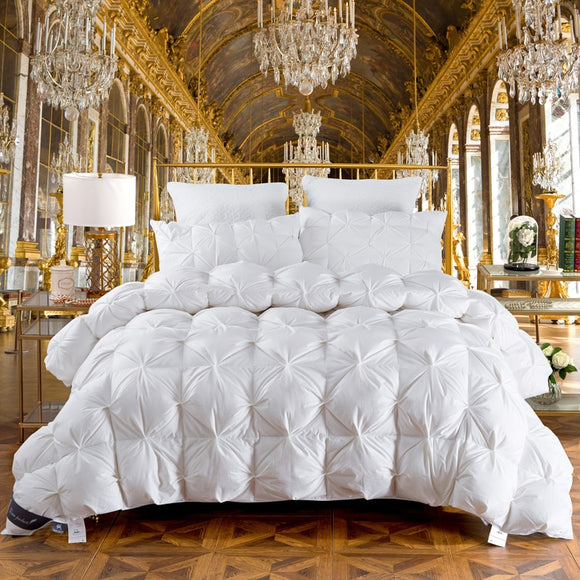 LUXURY GOOSE DOWN DUVET FLUFFY COLLECTION