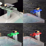 COLORFUL WATERFALL FAUCET