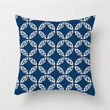 BLUE GEOMETRY CUSHION COVER COLLECTION