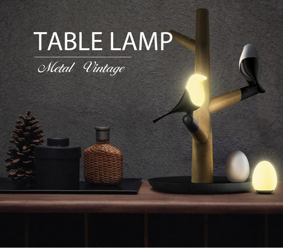 BIRD'S LED TABLE LAMP