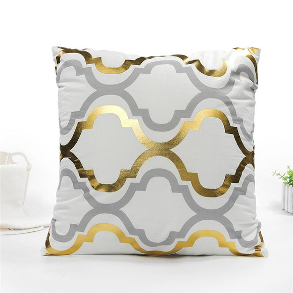 GOLD FOIL CUSHION COVER COLLECTION