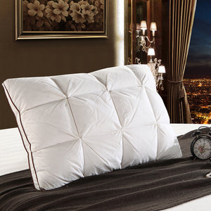 LUXURY GOOSE DOWN FLUFFY PILLOW