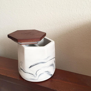 Malua Concrete Storage Jar