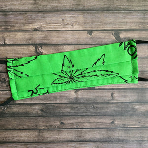 """Weed The North"" Fabric Mask"