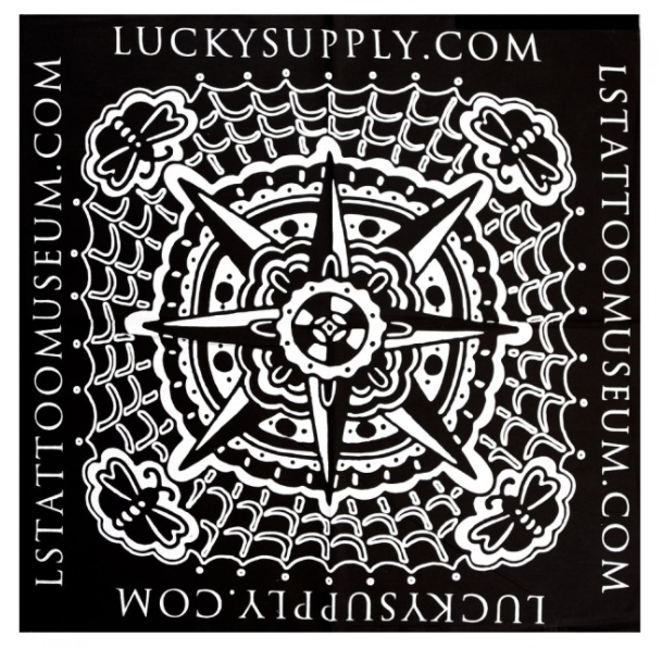 Lucky Supply Bert Krak Bandana - Black