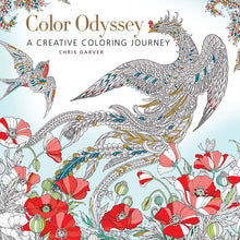 Color Odyssey: A Creative Coloring Journey Book by Chris Garver