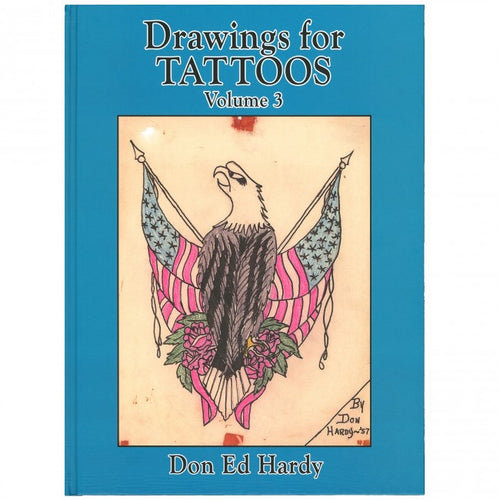 Drawings for Tattoos by Don Ed Hardy Vol.3