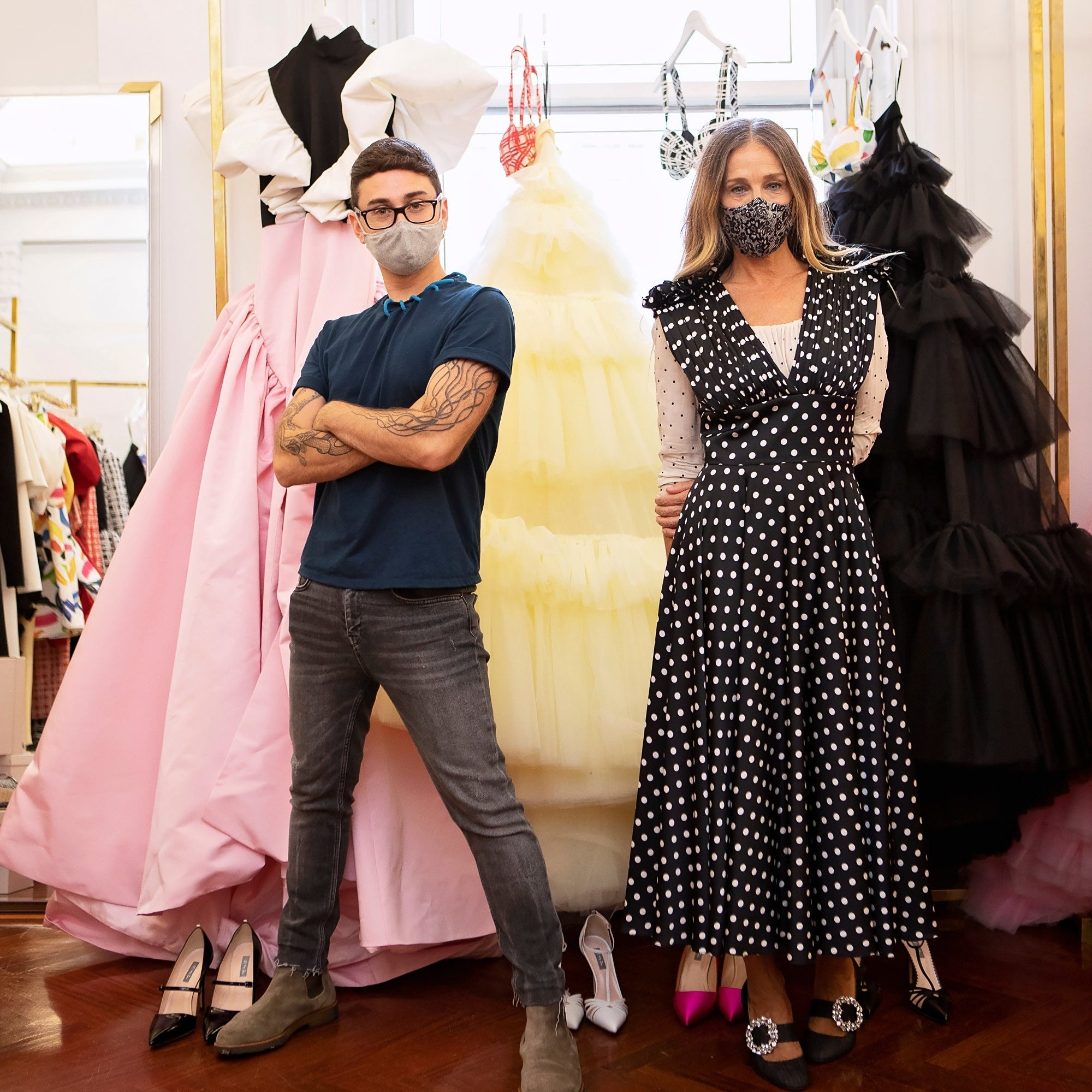 How Sarah Jessica Parker Lent a Helping Hand to Her Neighbor Christian Siriano