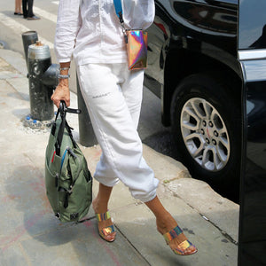 Sarah Jessica Parker's Iridescent Heels Look Straight Out of Carrie Bradshaw's Closet