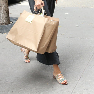 Sarah Jessica Parker Steps Out in a Very Carrie Bradshaw Shoe