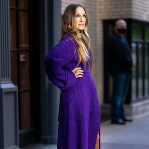 One Day, Two Carrie-Worth Fashion Moments for Sarah Jessica Parker