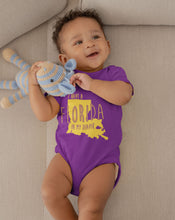 Load image into Gallery viewer, I HAVE A FLORIDA IN MY DIAPER Baby One Piece