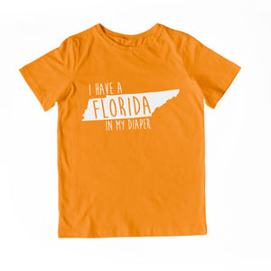 I HAVE A FLORIDA IN MY DIAPER Child Tee
