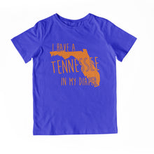 Load image into Gallery viewer, I HAVE A TENNESSEE IN MY DIAPER Child Tee