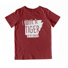 Load image into Gallery viewer, I HAVE A TIGER IN MY DIAPER Child Tee