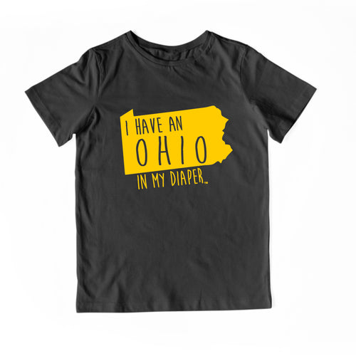 I HAVE AN OHIO IN MY DIAPER Child Tee