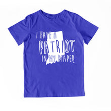 Load image into Gallery viewer, I HAVE A PATRIOT IN MY DIAPER Child Tee