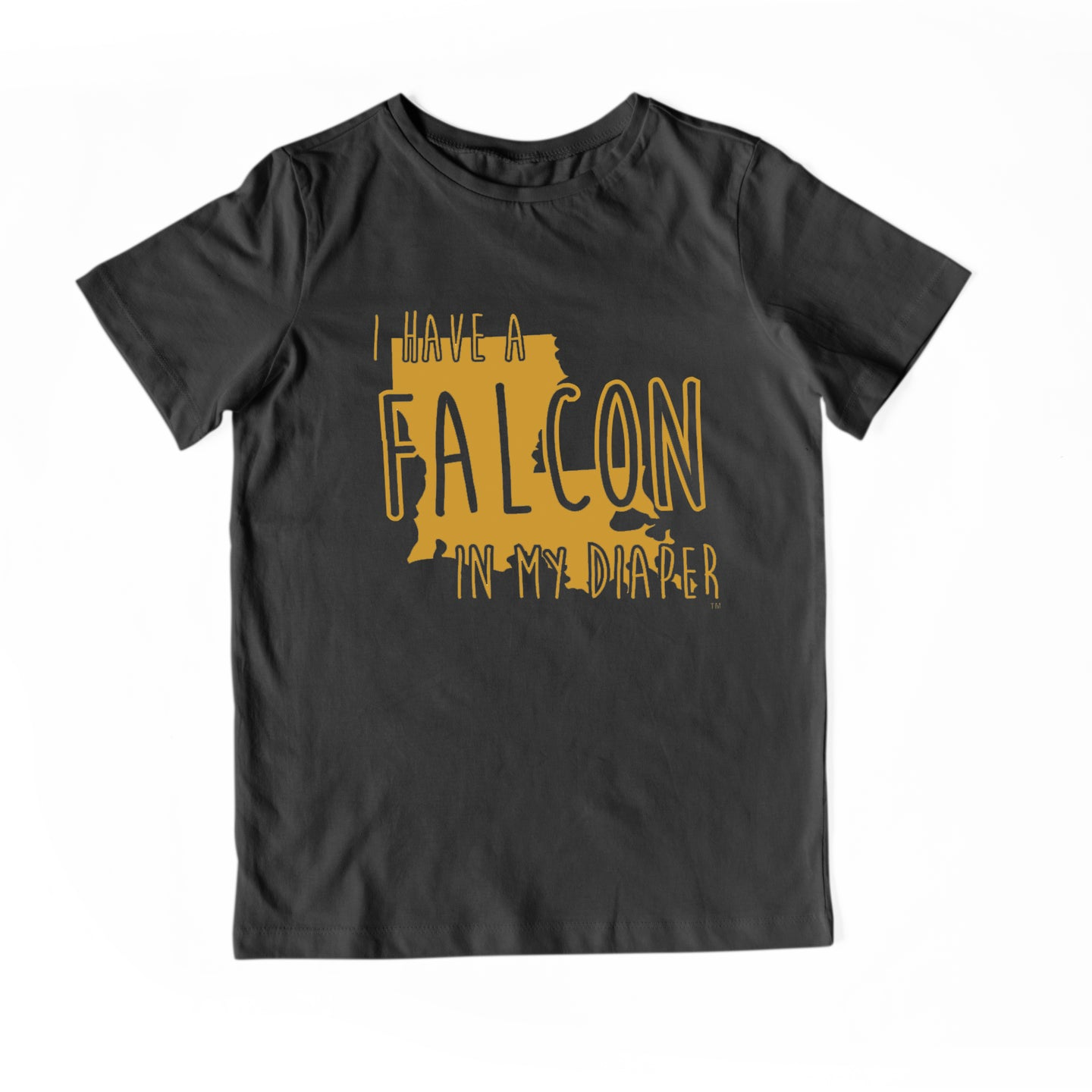 I HAVE A FALCON IN MY DIAPER Child Tee