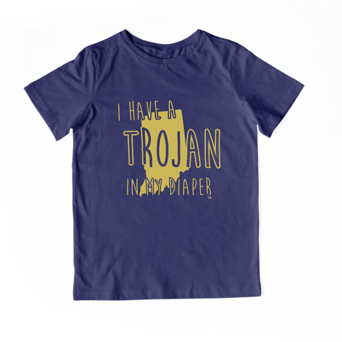 I HAVE A TROJAN IN MY DIAPER Child Tee