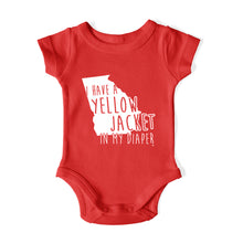 Load image into Gallery viewer, I HAVE A YELLOW JACKET IN MY DIAPER Baby One Piece
