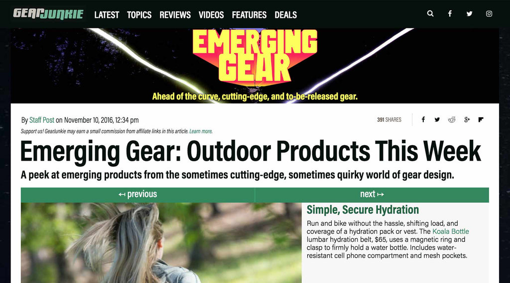 Gear Junkie – Emerging Gear