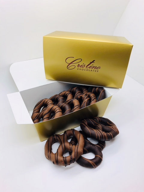 Gourmet Chocolate Covered Pretzels Collection