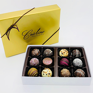 Chocolate Truffle Collection (12 piece box)