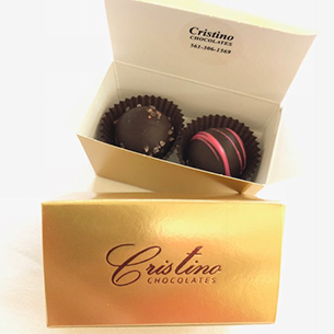 Chocolate Truffle Collection (2 Piece Box)