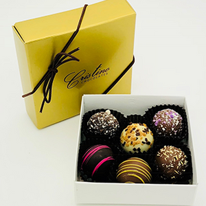 Chocolate Truffle Collection (6 Piece Box)