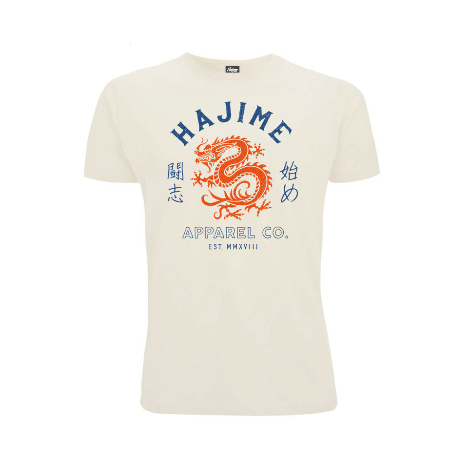 Japanese Dragon Cream Tee