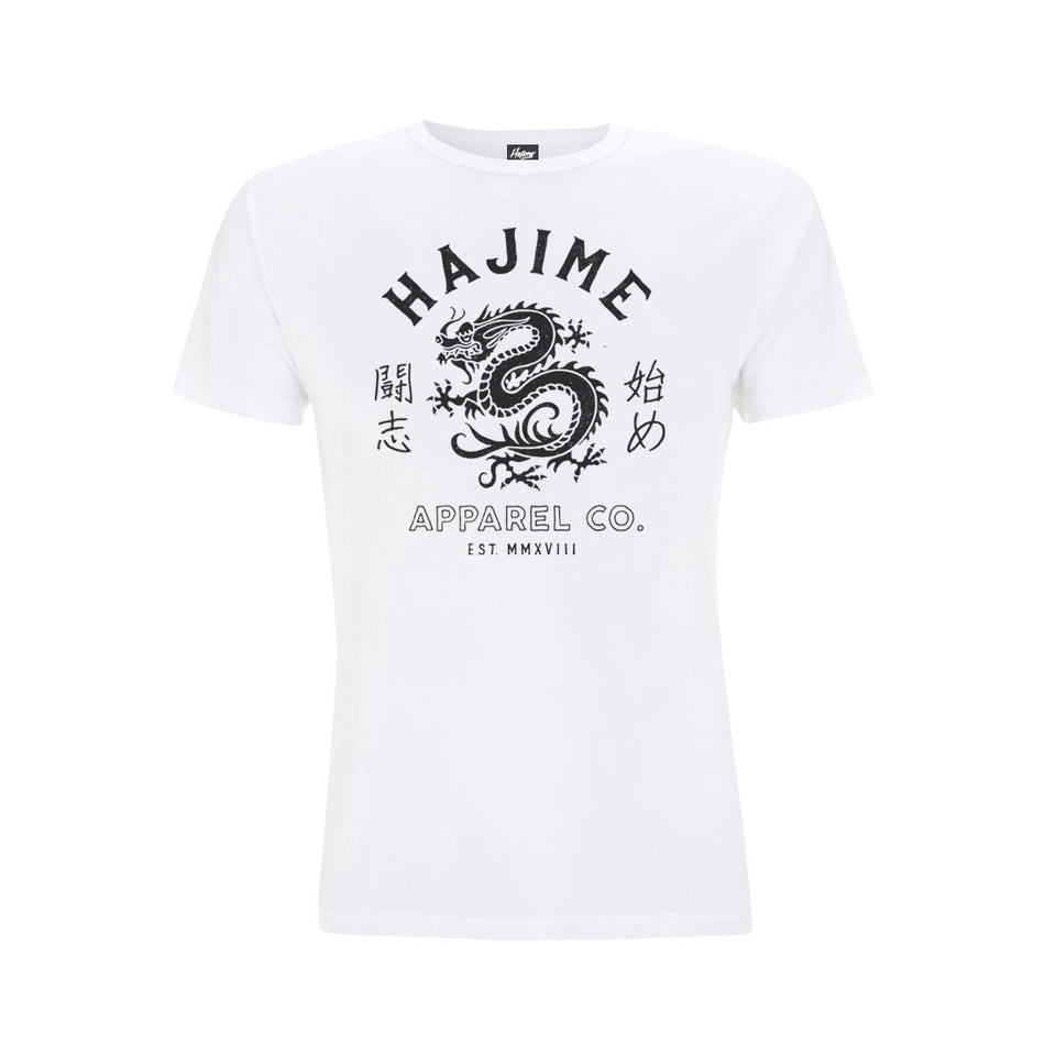 Japanese Dragon White Tee