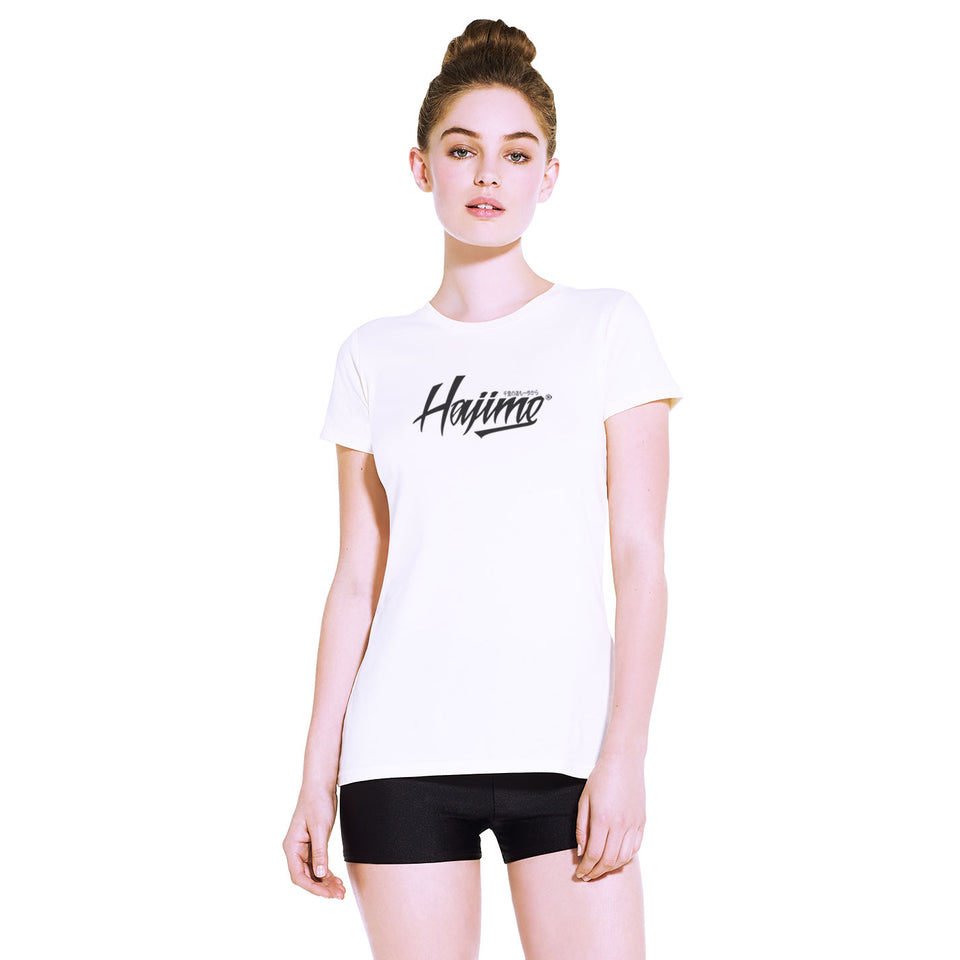 Women's Slim Fit White Tee (Now £10)
