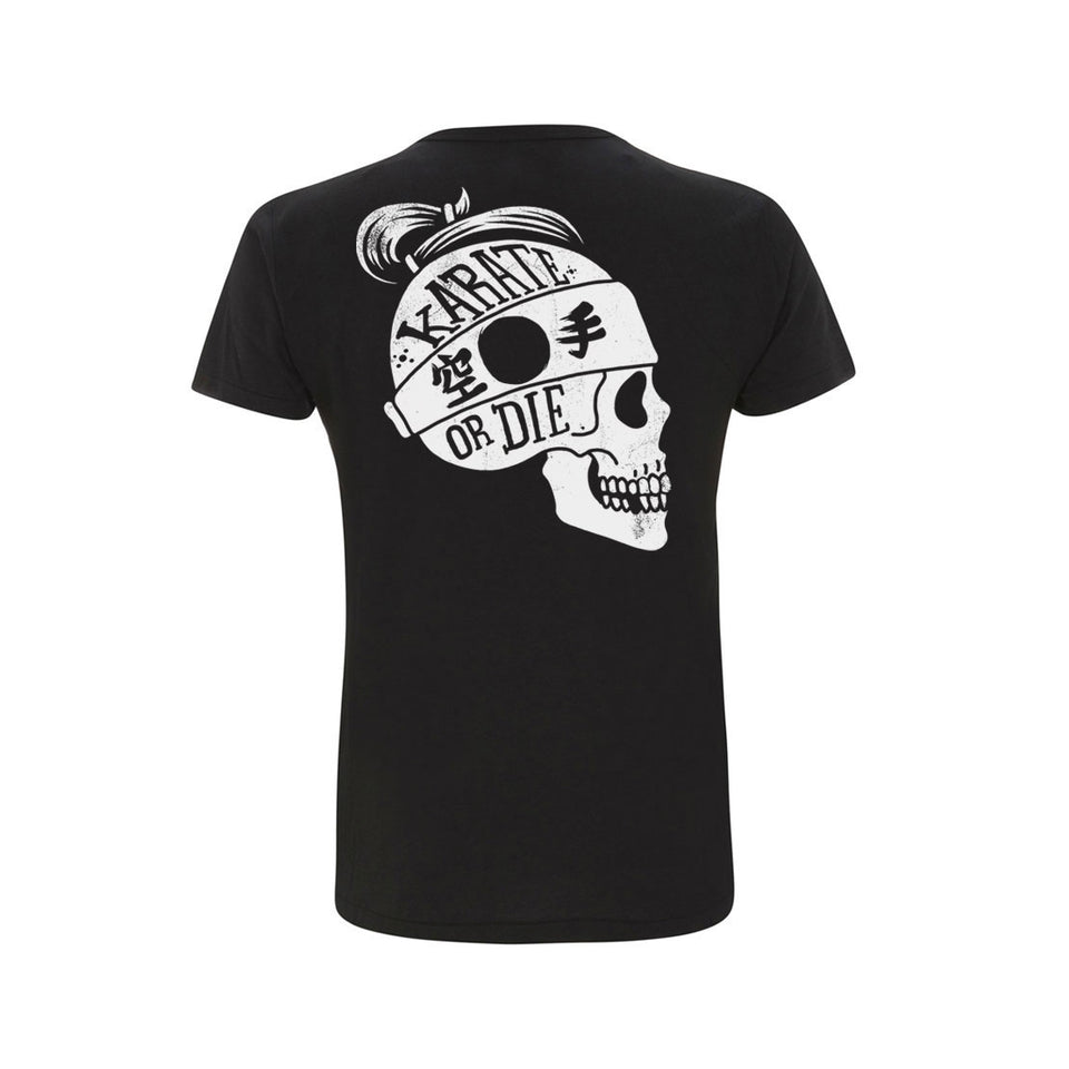 Karate or Die Black Tee (Now £12.50)