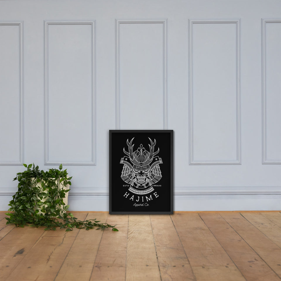 Shogun framed poster