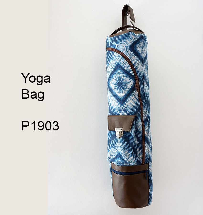 P1903 - Yoga Bag - Fully Illustrated & Easy to Follow Instructions