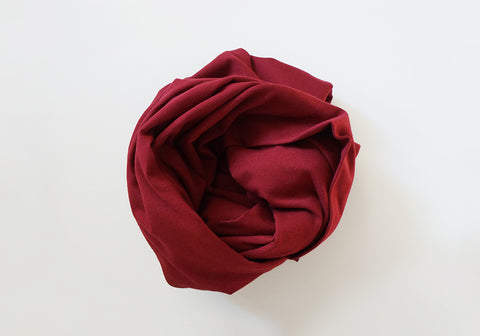 Infinity scarf - Cotton - Deep Rose