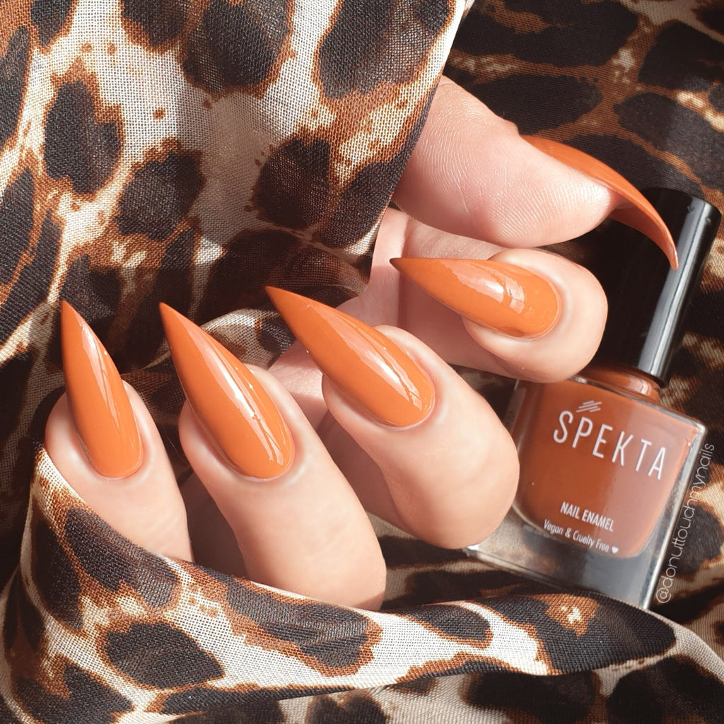 Spekta Gel Nail Polish- 02 Dramamama (Burnt Orange)