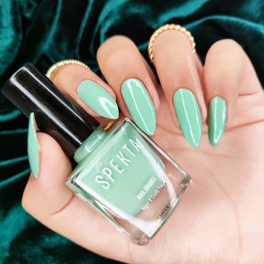 Spekta Gel Nail Polish- 11 So Woke (Mint Green)