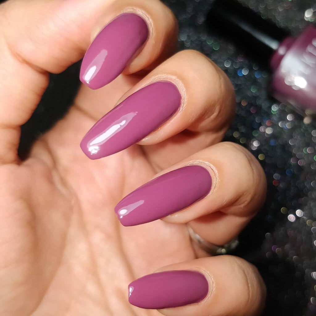 Spekta Gel Nail Polish- 06 Money Maker (Plum)