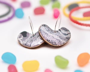 Jellybean Earrings // 'Heartwood '