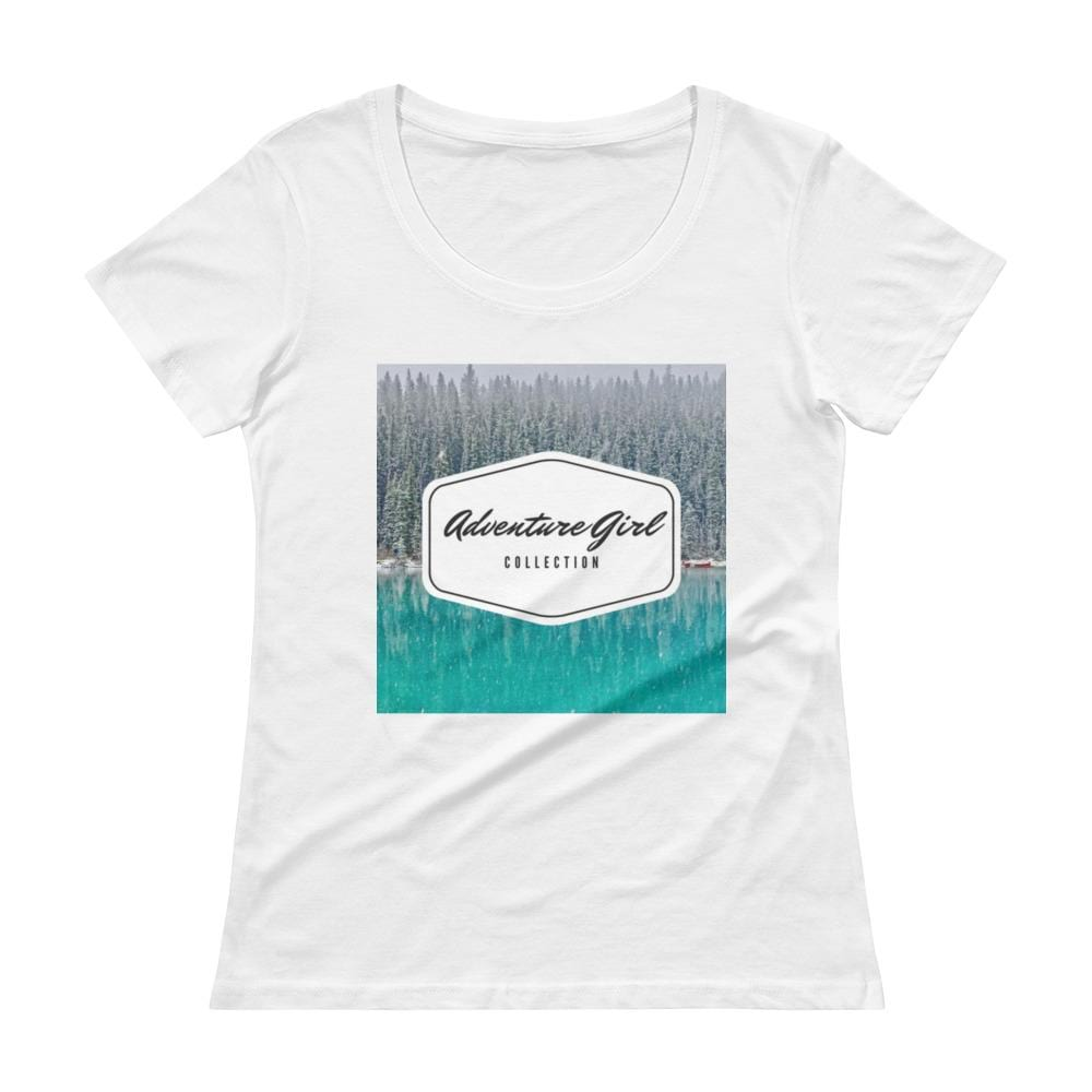 Adventure Girl Collection Scoopneck T-Shirt