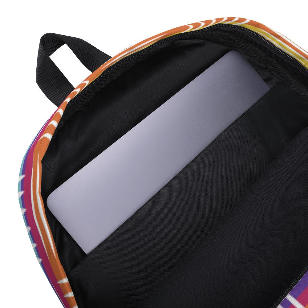 Colorful Lines Backpack