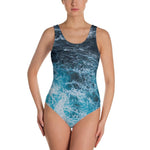 Blue Waves One-Piece Swimsuit