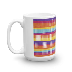 Colorful Lines Mug