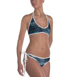 Blue Waves Reversible Bikini